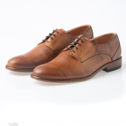 Zapato Formal Caoba Naranja